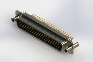 637-M62-230-BN4 - Machined D-Sub Connectors