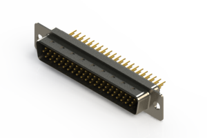 637-M62-630-BN1 - Machined D-Sub Connectors