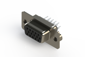 638-015-230-042 - Vertical D-Sub Connector