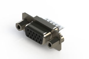 638-015-232-043 - Vertical D-Sub Connector