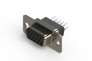 638-015-331-051 - Vertical D-Sub Connector
