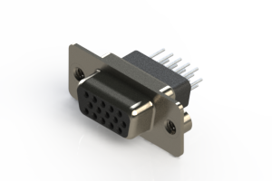 638-015-331-052 - Vertical D-Sub Connector