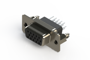 638-015-331-056 - Vertical D-Sub Connector