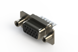 638-015-332-048 - Vertical D-Sub Connector