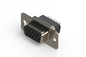 638-015-332-051 - Vertical D-Sub Connector