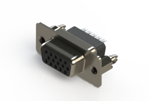 638-015-332-056 - Vertical D-Sub Connector