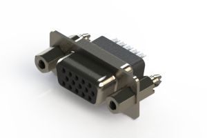 638-015-332-057 - Vertical D-Sub Connector