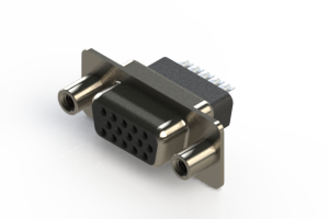 638-015-332-058 - Vertical D-Sub Connector