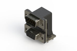 663-009-264-037 - D-Sub Connector | Right Angle
