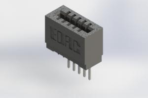 725-005-522-101 - Press-Fit Card Edge Connectors