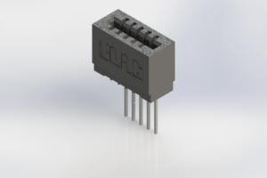 725-005-541-101 - Press-Fit Card Edge Connectors