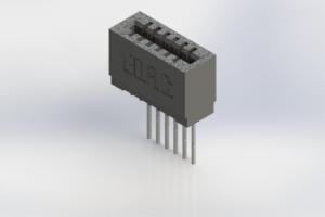 725-006-541-101 - Press-Fit Card Edge Connectors