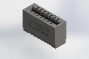 725-007-520-101 - Press-Fit Card Edge Connectors