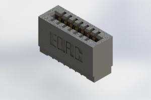 725-007-525-101 - Press-Fit Card Edge Connectors