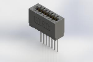 725-007-545-101 - Press-Fit Card Edge Connectors