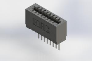 725-008-522-101 - Press-Fit Card Edge Connectors