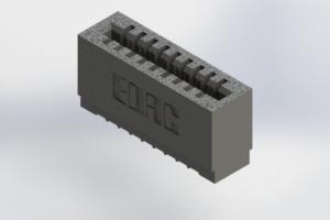 725-009-520-101 - Press-Fit Card Edge Connectors