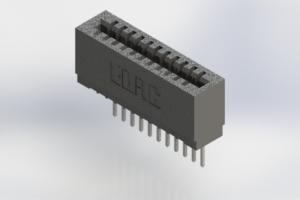 725-011-522-101 - Press-Fit Card Edge Connectors