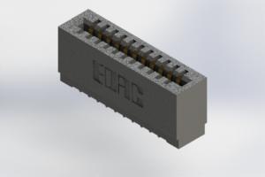 725-011-525-101 - Press-Fit Card Edge Connectors