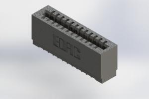 725-012-520-101 - Press-Fit Card Edge Connectors