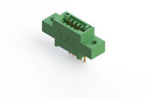"""345-005-541-602 - .100"""" (2.54mm) Pitch   Card Edge Connector"""
