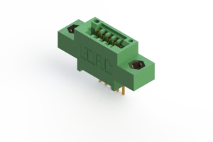 """345-005-542-607 - .100"""" (2.54mm) Pitch   Card Edge Connector"""