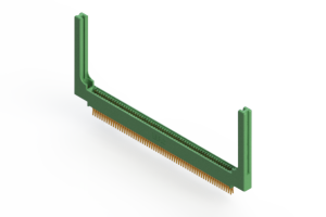 """345-124-560-858 - .100"""" (2.54mm) Pitch   Card Edge Connector"""