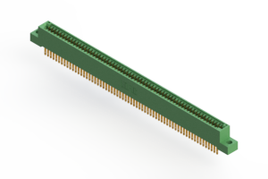 """345-126-500-204 - .100"""" (2.54mm) Pitch   Card Edge Connector"""