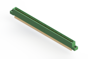 """345-126-500-208 - .100"""" (2.54mm) Pitch   Card Edge Connector"""