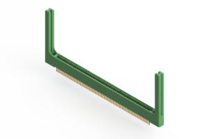 """345-126-500-258 - .100"""" (2.54mm) Pitch   Card Edge Connector"""