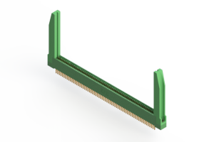 """345-126-500-278 - .100"""" (2.54mm) Pitch   Card Edge Connector"""