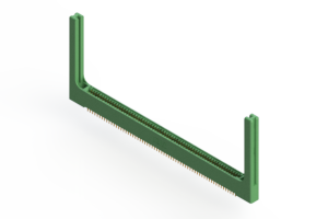 """345-126-521-258 - .100"""" (2.54mm) Pitch   Card Edge Connector"""