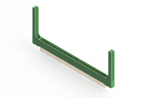 """345-126-523-258 - .100"""" (2.54mm) Pitch   Card Edge Connector"""