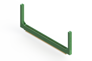 """345-126-555-558 - .100"""" (2.54mm) Pitch   Card Edge Connector"""