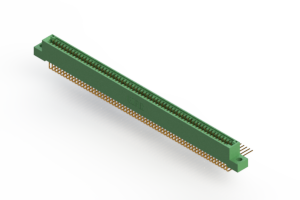 """345-126-558-204 - .100"""" (2.54mm) Pitch   Card Edge Connector"""