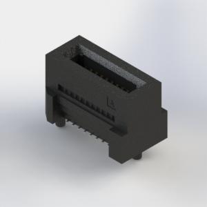 370-020-229-102 - High Speed Card Edge Connector