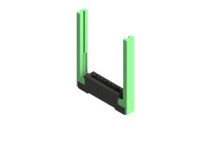 387-007-542-168 - Card Edge Connector