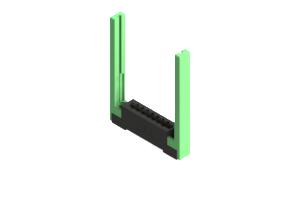 387-007-544-168 - Card Edge Connector