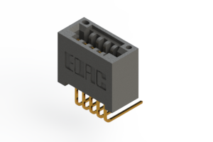 """395-005-558-101 - .100"""" (2.54mm) Pitch   Card Edge Connector"""