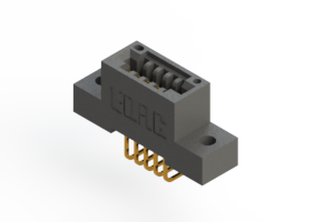"""395-005-558-102 - .100"""" (2.54mm) Pitch   Card Edge Connector"""