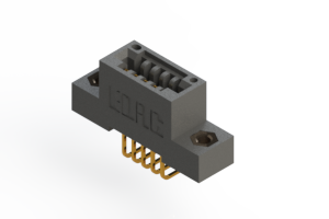 """395-005-558-107 - .100"""" (2.54mm) Pitch   Card Edge Connector"""