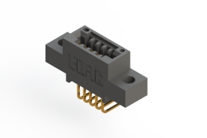 """395-005-558-404 - .100"""" (2.54mm) Pitch   Card Edge Connector"""