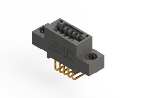 """395-005-558-407 - .100"""" (2.54mm) Pitch   Card Edge Connector"""