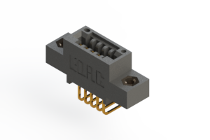 """395-005-558-408 - .100"""" (2.54mm) Pitch   Card Edge Connector"""