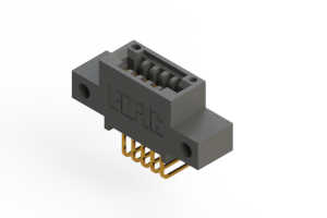 """395-005-558-412 - .100"""" (2.54mm) Pitch   Card Edge Connector"""