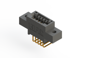 """395-005-558-602 - .100"""" (2.54mm) Pitch   Card Edge Connector"""