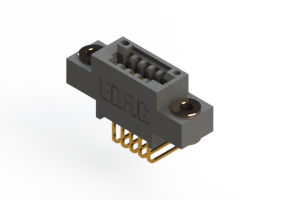 """395-005-558-603 - .100"""" (2.54mm) Pitch   Card Edge Connector"""