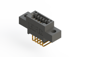 """395-005-558-604 - .100"""" (2.54mm) Pitch   Card Edge Connector"""