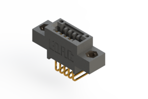 """395-005-558-607 - .100"""" (2.54mm) Pitch   Card Edge Connector"""