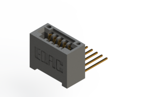 """395-005-559-101 - .100"""" (2.54mm) Pitch   Card Edge Connector"""